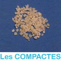 Engrais sous forme de granules compactes