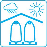 Préférer le stockage à l'intérieur, sous un abri sec et aéré pour protéger les engrais du soleil et de l'humidité.